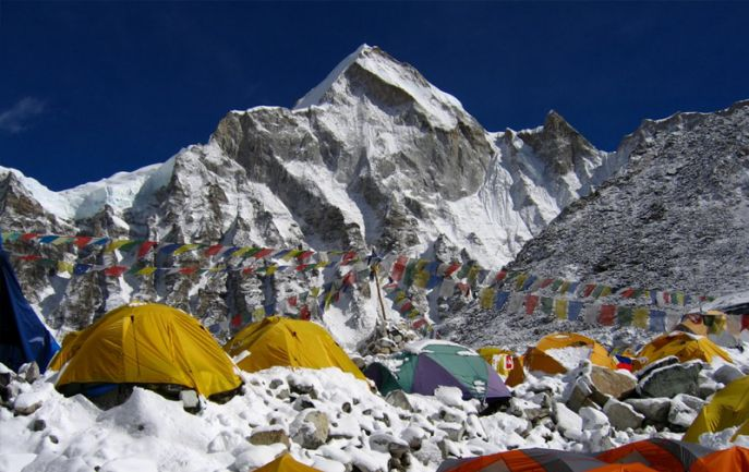 Everest Base Camp with Island Peak Climbing